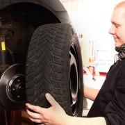 Reifen, Rad, Montage